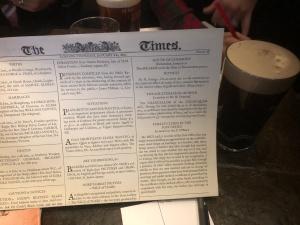 Sherlock Holmes and Beer